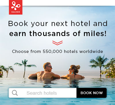 Book hotels with Kaligo and earn thousands of miles